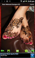 Screenshot of Best Mehandi Designs HD