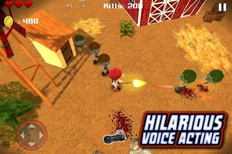 Tsolias vs Zombies 3D FREE - screenshot
