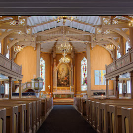 Wooden Cathedral by Mino Taurus - Buildings & Architecture Places of Worship ( church, dome, tromso, cathedral, norway )