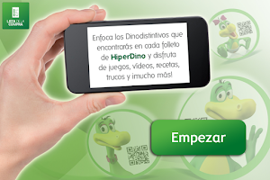 Screenshot of HiperDino Realidad Aumentada