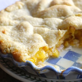 Peach Pie You Can Eat for Breakfast
