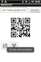 Screenshot of QRGenerator