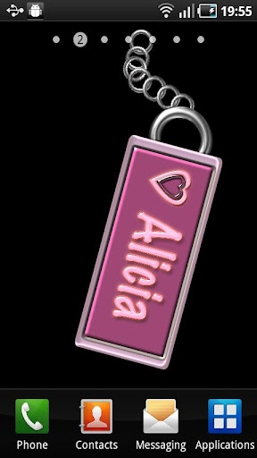 Alicia Name Tag