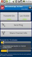 Screenshot of GPSLive!