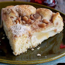 Pear Cake with Pine Nuts