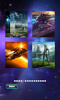 Screenshot of Sci-Fi Puzzles