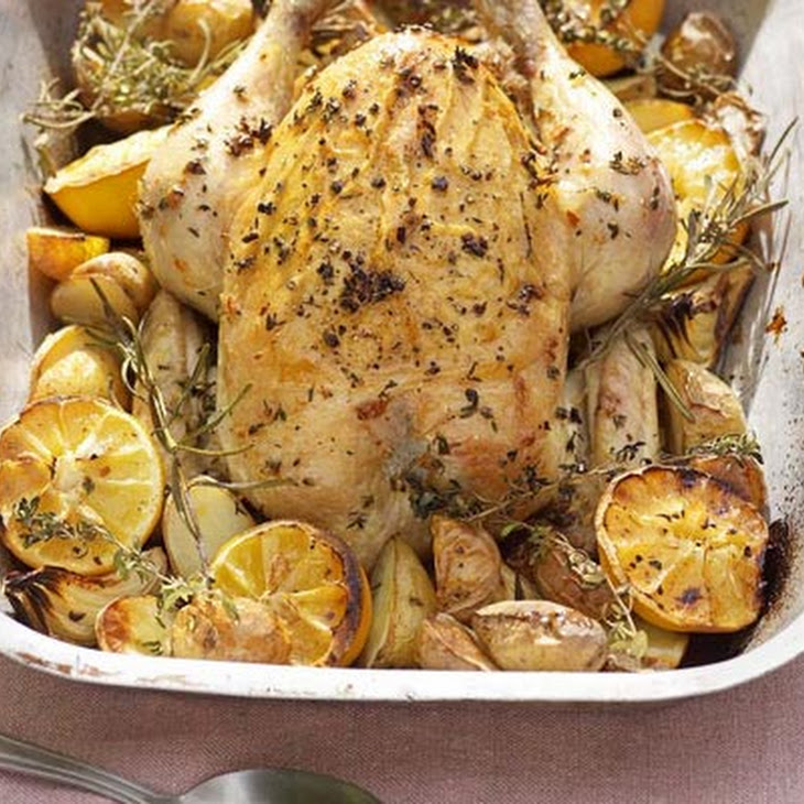One-pan Roast Chicken & Potatoes