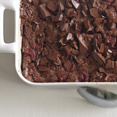 Chocolate Raspberry Clafoutis