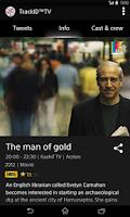 Screenshot of TrackID™ TV