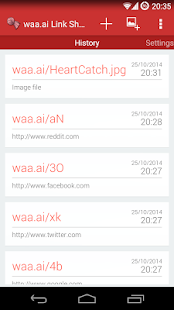 waa.ai Link Shortener - screenshot