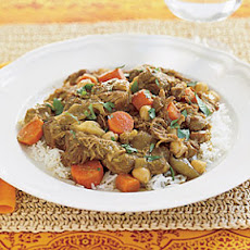 Lamb Curry with Chickpeas