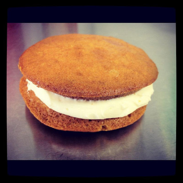 Whoopie  pie  - pumpkin