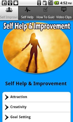 Self Help and Improvement