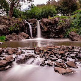Narracan Falls by Peter Nguyen - Landscapes Waterscapes ( narracan falls, waterfalls, victoria, narracan )