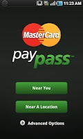 Screenshot of MasterCard PayPass Locator