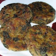 Amaranth Walnut Patties