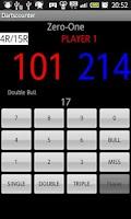 Screenshot of kidz darts counter