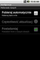 Screenshot of Słowo Dnia