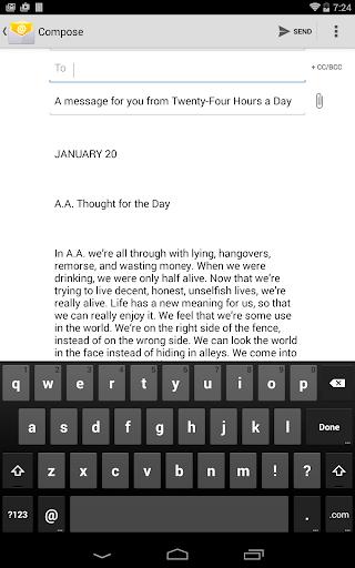 Twenty-Four Hours a Day - screenshot