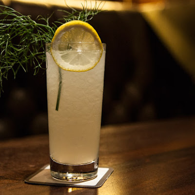 Basil-Fennel Soda