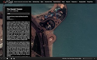 Screenshot of nMap World Kuwait - Tourist