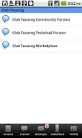 Screenshot of Club Touareg Owners Forum