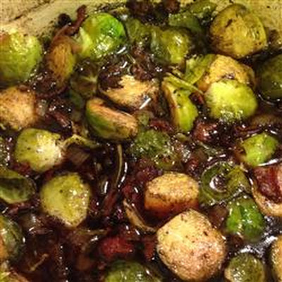 Bella's Brussels Sprouts with Bacon