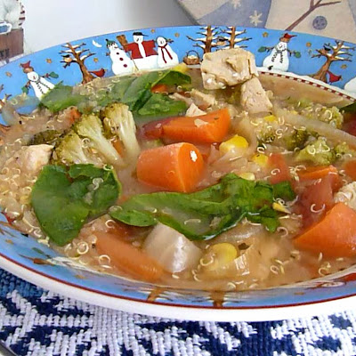 Chicken Quinoa Vegetable Soup