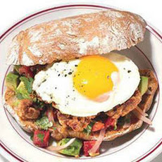 Chorizo-and-Fried-Egg Sandwiches