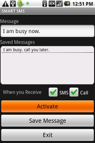 SMART SMS AUTOREPLY