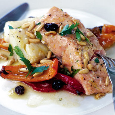 Zesty Roast Salmon & Cod