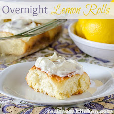Overnight Lemon Rolls