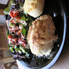Crab Stuffed Chicken Breasts
