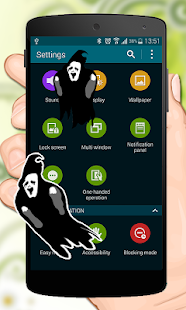 Ghost in Phone funny joke - screenshot
