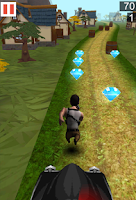 Screenshot of Village Freak Run 3D