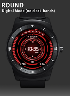 V07 WatchFace for Android Wear - screenshot