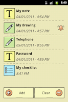 Screenshot of QuickNote Notepad Notes