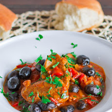 Olive Stew With Pork