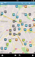 Screenshot of Brussels Travel Guide Triposo