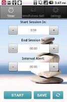 Screenshot of Meditation Timer