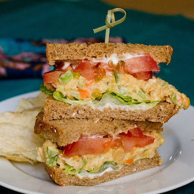 Chickpea Salad Sammiches