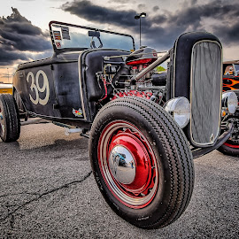Old #39 by Ron Meyers - Transportation Automobiles