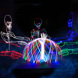 Light Painting 10 by Kyle Kong - Abstract Light Painting ( light painting, art, painting, light )