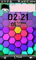 Screenshot of Ani Clock Widget Lite