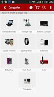 Screenshot of Verizon Accessories