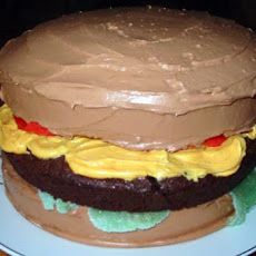 April Fools' Day  Cheeseburger Cake
