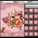 GO Launcher Theme: Rose Tea icon