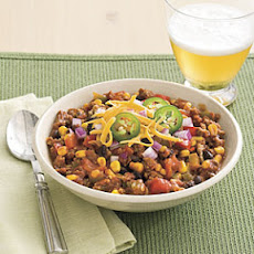 Slow-cooker Turkey Chili