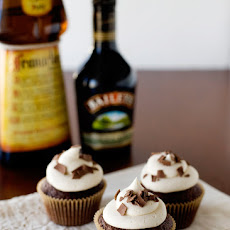 Nutty Irishman Cupcakes