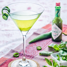 Spicy Vodka Greentini